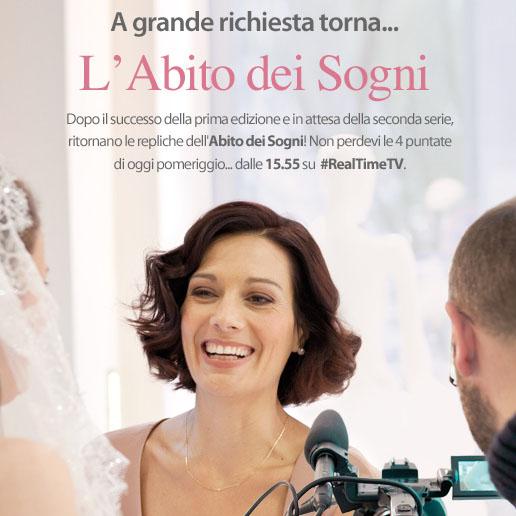 Ritorna l ABITO DEI SOGNI su Real Time con Alessandra Rinaudo 4590cdbbe36