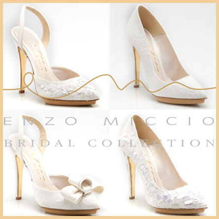 Scarpe Sposa Nicole.Enzo Miccio Bridal Collection Luxury Shoes By Nicole