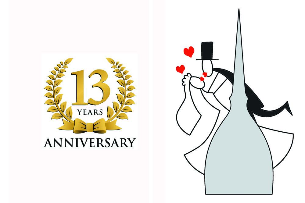 Anniversario Di Matrimonio Torino.Abbiamo Fatto Tredici