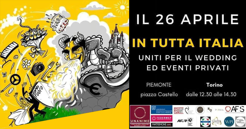IN TUTTA ITALIA UNITI PER IL WEDDING