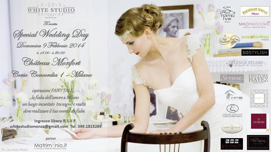 special wedding day chateau monfort milano