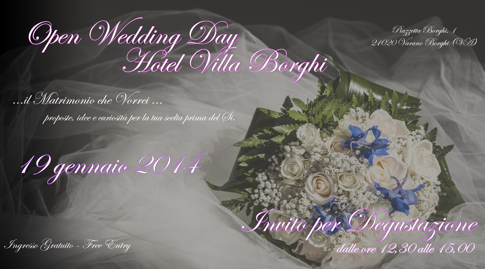 Open Wedding Day Hotel Villa Borghi
