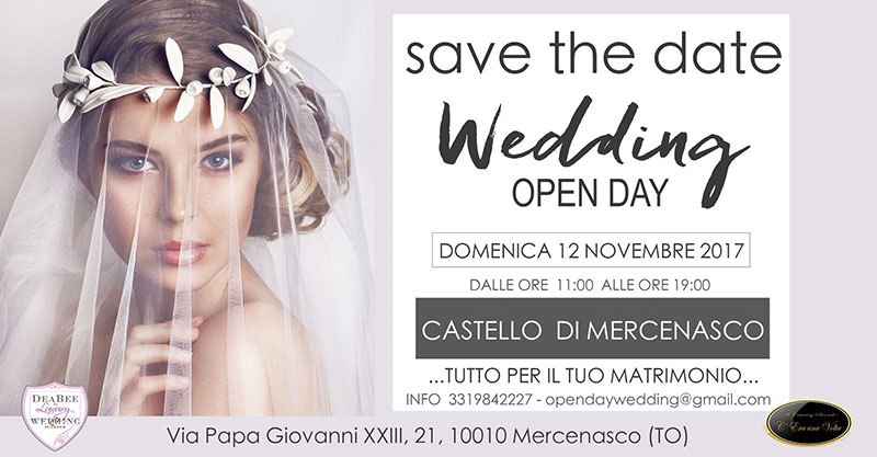 Wedding Open Day 2017 al CASTELLO di MERCENASCO
